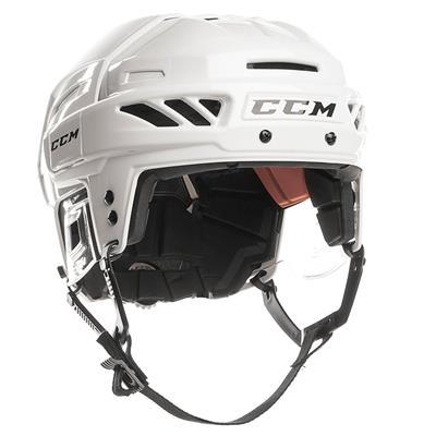 White/White (CCM Fitlite FL90 Hockey Helmet)