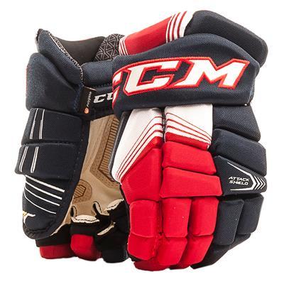 Navy/Red/White (CCM Super Tacks Hockey Gloves - Senior)
