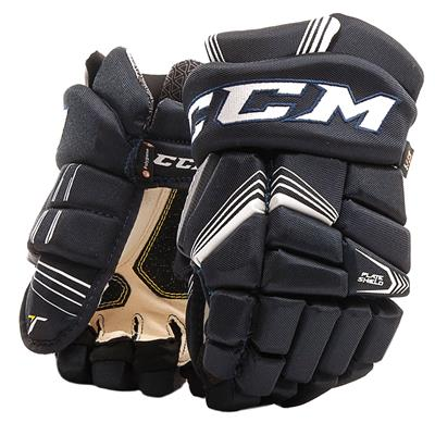 Navy (CCM Tacks 7092 Hockey Gloves - Junior)