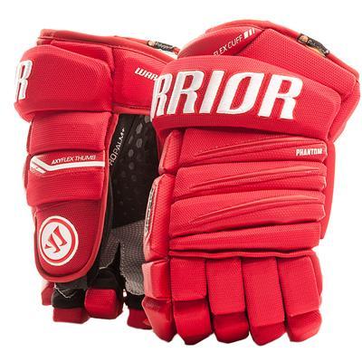 Red/White (Warrior Alpha QX Hockey Gloves)