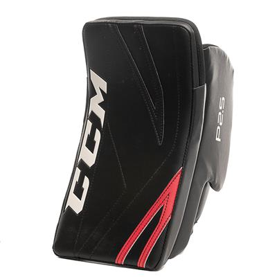 Black/Red (CCM Premier P2.5 Goalie Blocker - Junior)