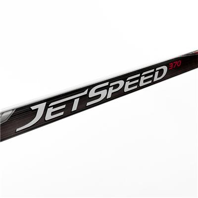 (CCM JetSpeed 370 Grip Composite Hockey Stick - Senior)