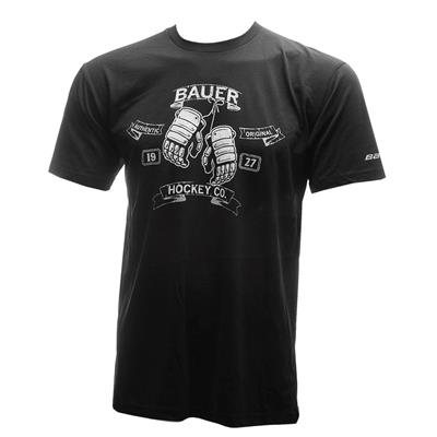 (Bauer Dirty Mitts Short Sleeve Tee Shirt - Adult)