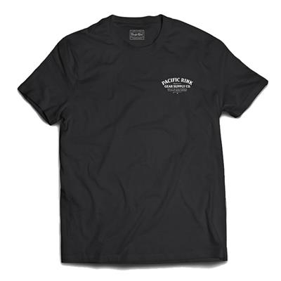 (Pacific Rink Heritage Tee Shirt - Black - Adult)