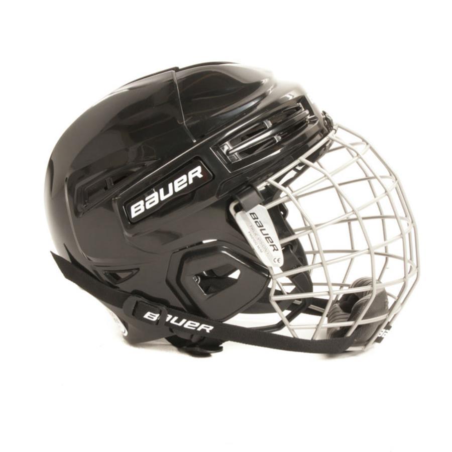 (Bauer IMS 5.0 Hockey Helmet Combo) f40689fd2cbbd