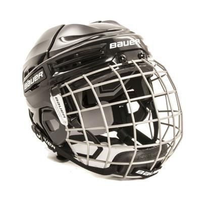 Black (Bauer IMS 5.0 Hockey Helmet Combo)