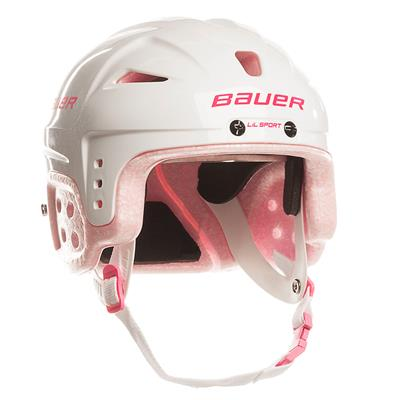 Pink (Bauer Lil Sport Hockey Helmet)
