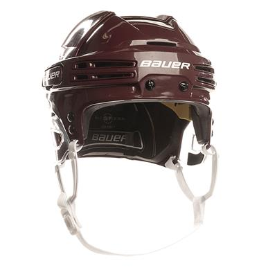 Maroon/Maroon (Bauer RE-AKT 75 Hockey Helmet)