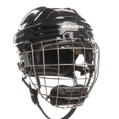 Navy/Navy (Bauer RE-AKT 75 Hockey Helmet Combo)