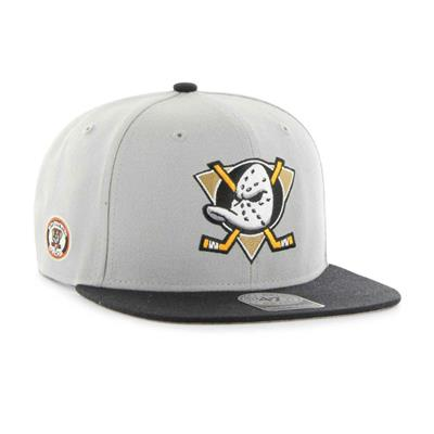 (47 Brand Anaheim Ducks Sure Shot Snapback Hat - Adult)