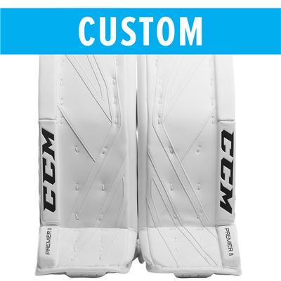 (CCM Custom Premier II Pro Goalie Leg Pads)
