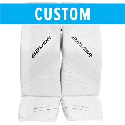 (Bauer Custom Vapor 1X Goalie Leg Pads - Senior)