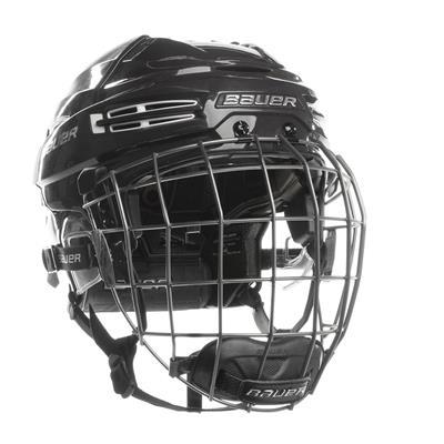 Navy/White (Bauer RE-AKT 100 Hockey Helmet Combo)