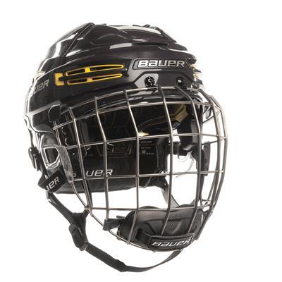 Navy/Yellow (Bauer RE-AKT 100 Hockey Helmet Combo)