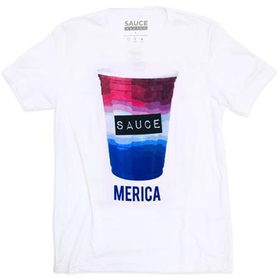 (Sauce Hockey 'Merica Tee - Adult)