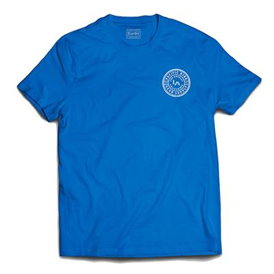 (Pacific Rink LA Royal-Tee - Blue - Adult)