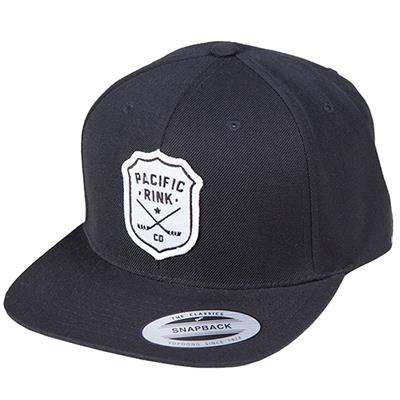 (Pacific Rink Sheriffs Snapback Cap - Black - Adult)