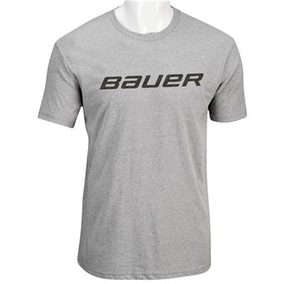 Heather Grey (Bauer Core Graphic Short Sleeve Tee - Mens)