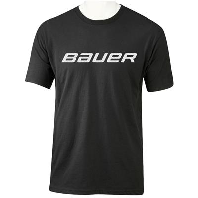 Black (Bauer Core Graphic Short Sleeve Tee - Youth)