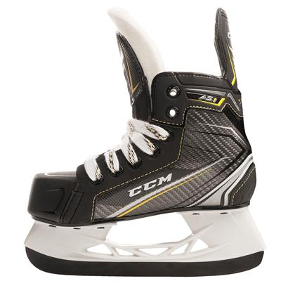(CCM Super Tacks AS1 Youth Ice Hockey Skates - Youth)