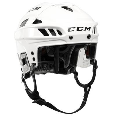White/White (CCM FITLITE Hockey Helmet)