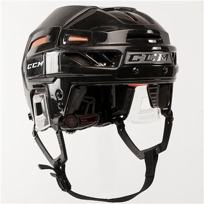 Black/Orange (CCM Fitlite 3DS Hockey Helmet)