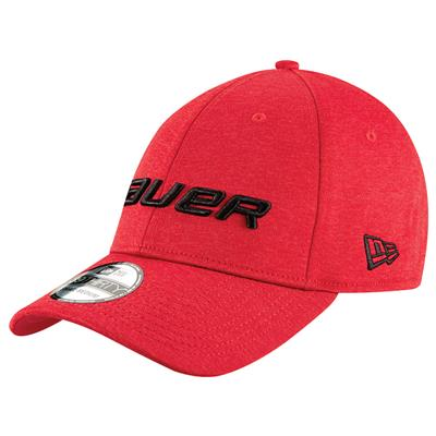 Red (Bauer New Era 39Thirty Cap - Adult)