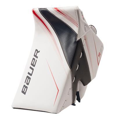 White/Navy/Red (Bauer Supreme S27 Goalie Blocker - Junior)