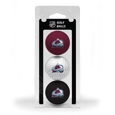 (Colorado Avalanche Golf Ball - 3 Pack)