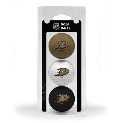 (Anaheim Ducks Golf Ball - 3 Pack)
