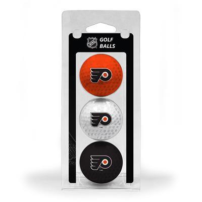 (Philadelphia Flyers Golf Ball - 3 Pack)