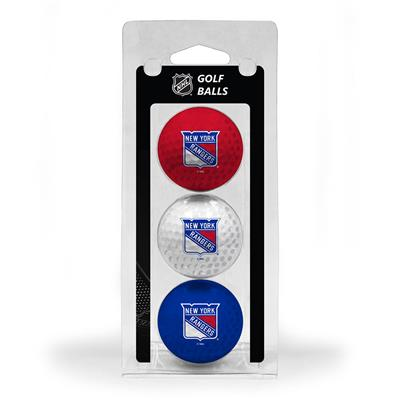(New York Rangers Golf Ball - 3 Pack)