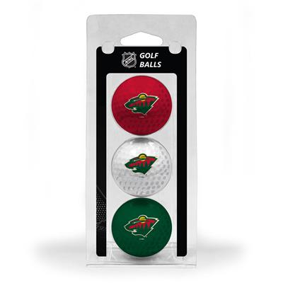 (Minnesota Wild Golf Ball - 3 Pack)