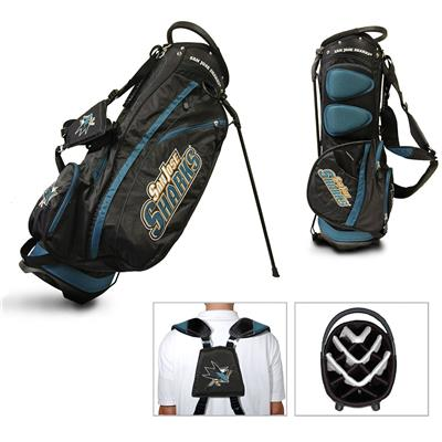 (San Jose Sharks Fairway Golf Stand Bag)