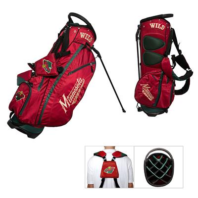 (Minnesota Wild Fairway Golf Stand Bag)