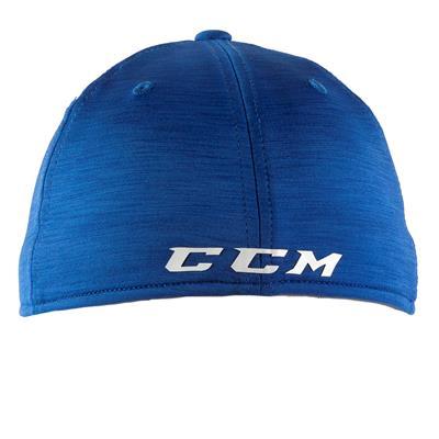 Blue/White Back (CCM Tech Structured Flex Fit Hat - Adult)