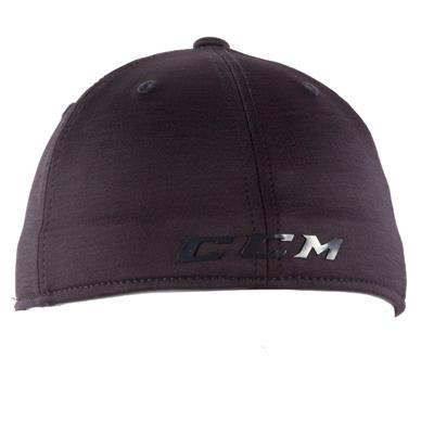 Textured Navy Back (CCM Tech Structured Flex Fit Hat - Adult)