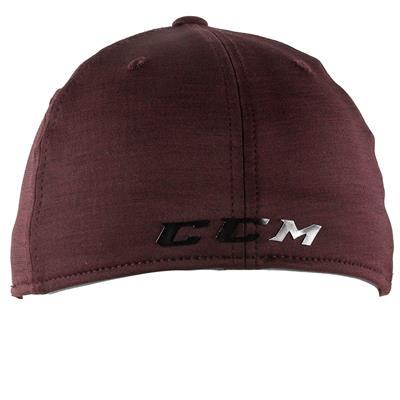 Wine Back (CCM Tech Structured Flex Fit Hat - Adult)