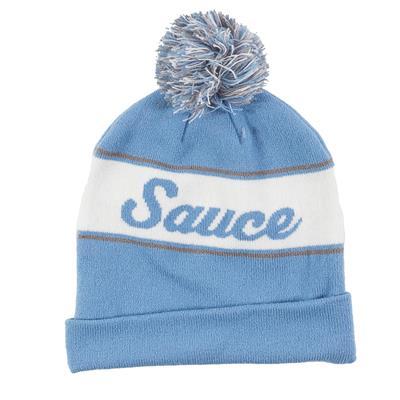 (Sauce Hockey Chicken Legs Knit Hat Light Blue - Adult)
