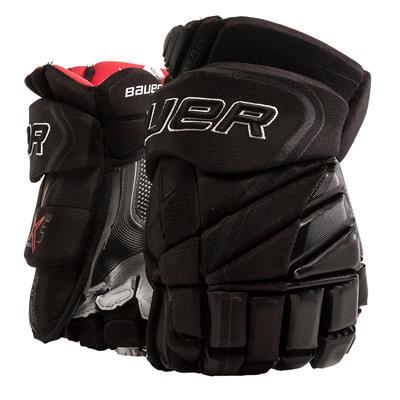 Black (Bauer Vapor 1X Lite Hockey Gloves - Senior)
