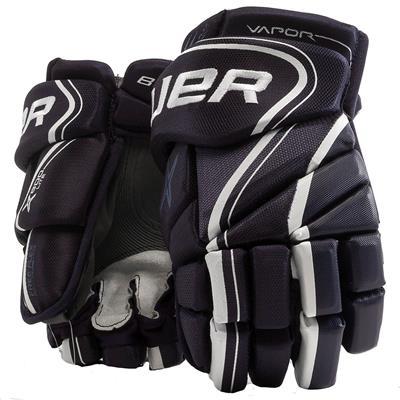 Navy (Bauer Vapor X800 Lite Hockey Gloves - Senior)