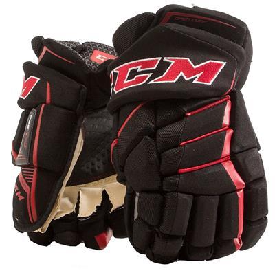 Black/Red (CCM JetSpeed FT390 Hockey Gloves)