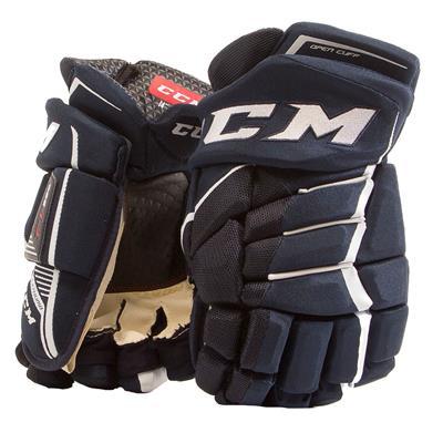 Navy/White (CCM JetSpeed FT390 Hockey Gloves)