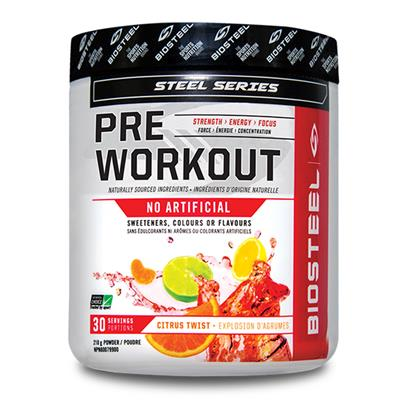Citrus Twist (Biosteel Preworkout Mix - Citrus Twist)
