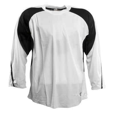 White/Black (Pure Hockey Two Tone Practice Jersey - Senior)