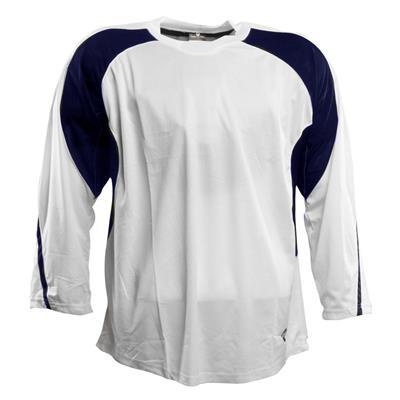 White/Navy (Pure Hockey Two Tone Practice Jersey - Senior)