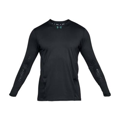 (Under Armour Fitted Hockey Grippy Long Sleeve Shirt - Youth)