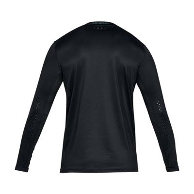 Back (Under Armour Fitted Hockey Grippy Long Sleeve Shirt - Youth)
