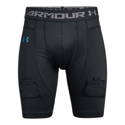 Front (Under Armour Fitted Hockey Jock Short - Youth)