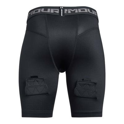 Back (Under Armour Fitted Hockey Jock Short - Youth)